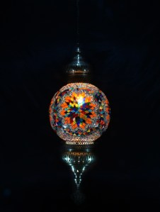 SINGLE CHAIN FANTASY STYLE BALL LAMP SIZE 30 CM (6)
