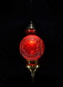 SINGLE CHAIN FANTASY STYLE BALL LAMP SIZE 30 CM (9)