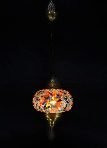 SINGLE CHAIN OVAL HANGING LAMP (12)