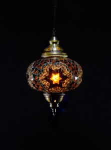 SINGLE CHAIN OVAL HANGING LAMP SIZE 3 (10)