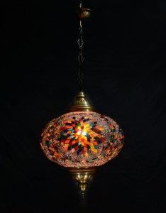 SINGLE CHAIN OVAL HANGING LAMP SIZE 6 (11)