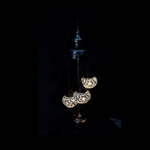 SPIRAL STANDING LAMP SETS OF 3 BALL SIZE (1)