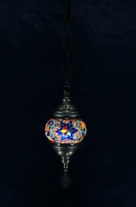 Single chain mosaic lamp (10)
