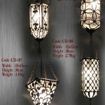 Hand Blown Glass Pendant Lamp Shades