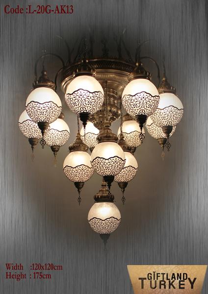 Ottoman Lamp Model