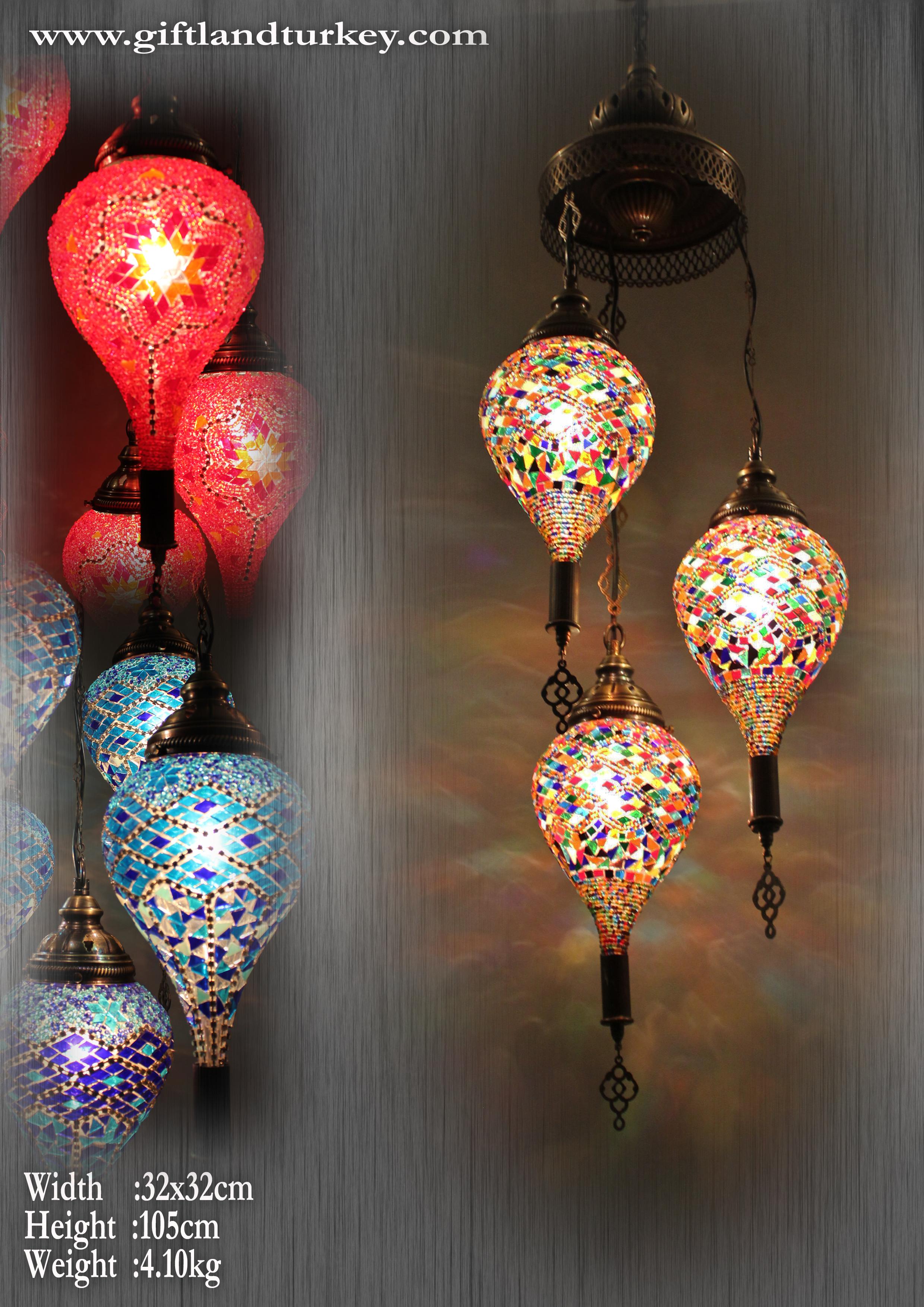 Turkish Mosic Lamp Ottoman Lighting