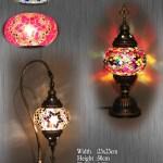 Handmade Table Glass Lamp