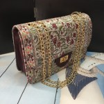 Authentic shoulder bag with chain