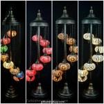 Turkish 7 Ball Floor Lamp