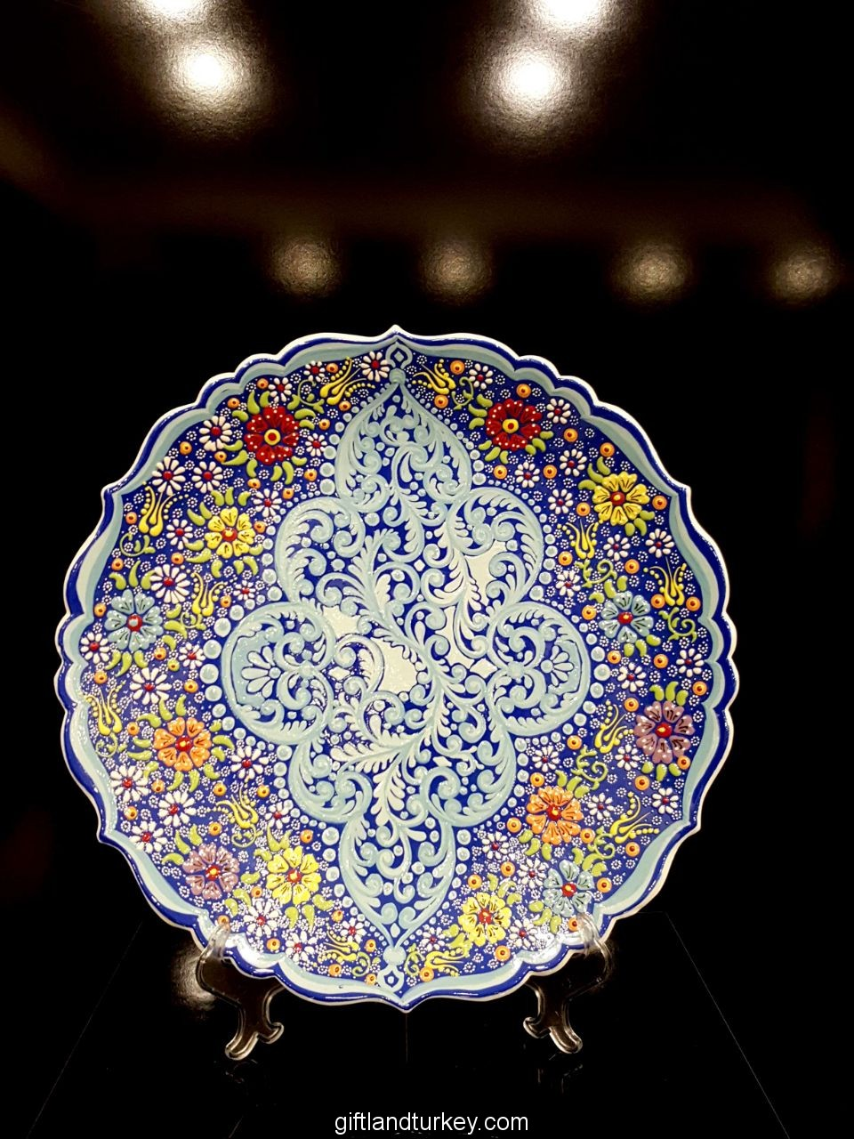 Turkish Handmade Ceramic Plate