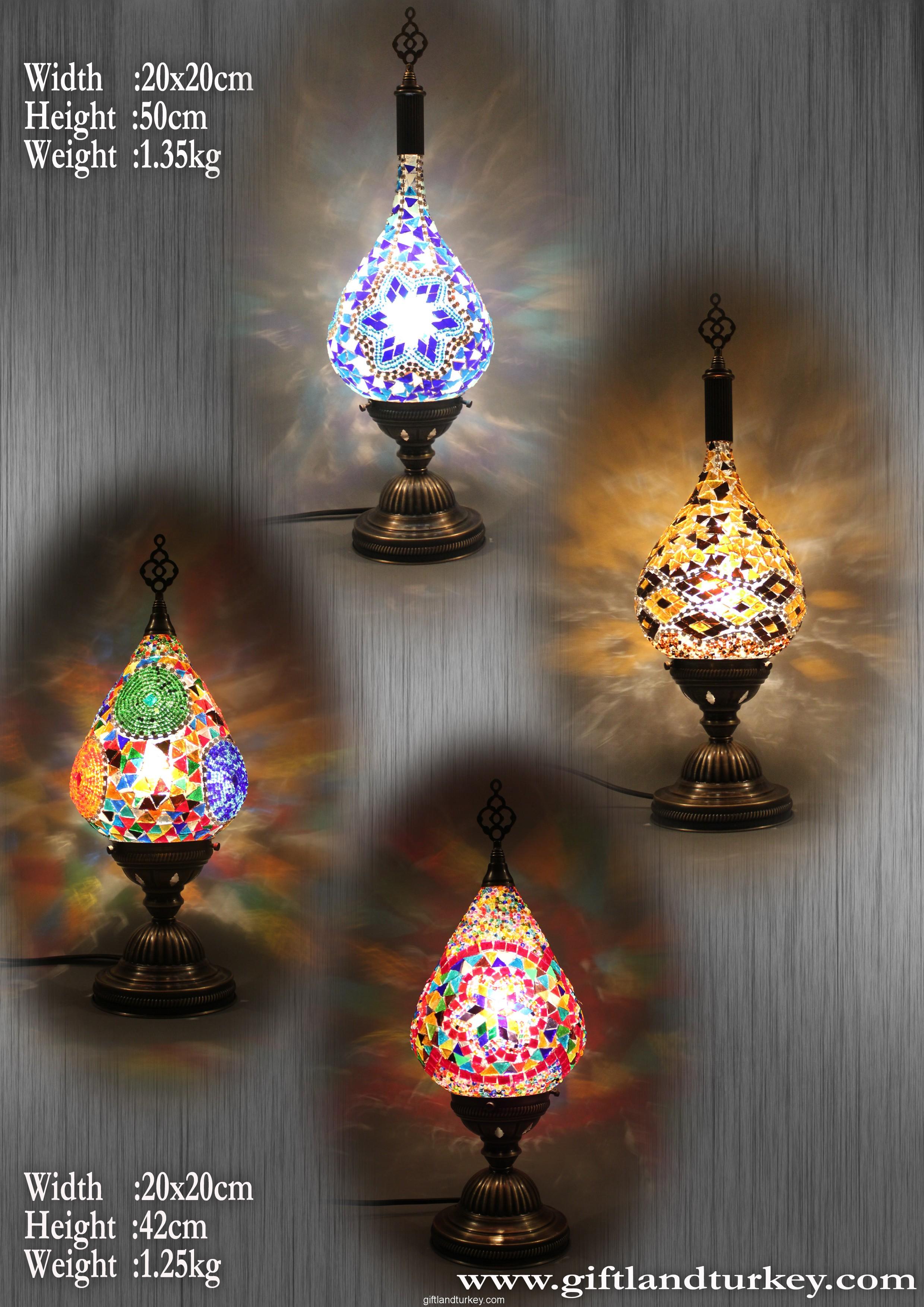 Drop Mosaic Lamp