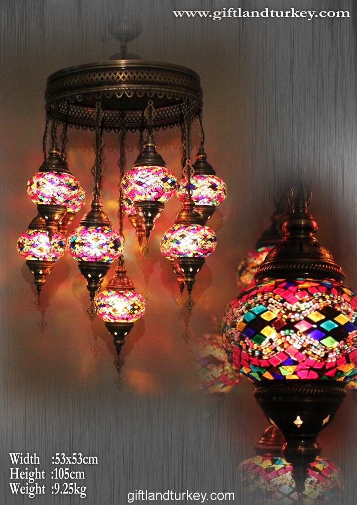 Turkish mosaic lamp wholesale