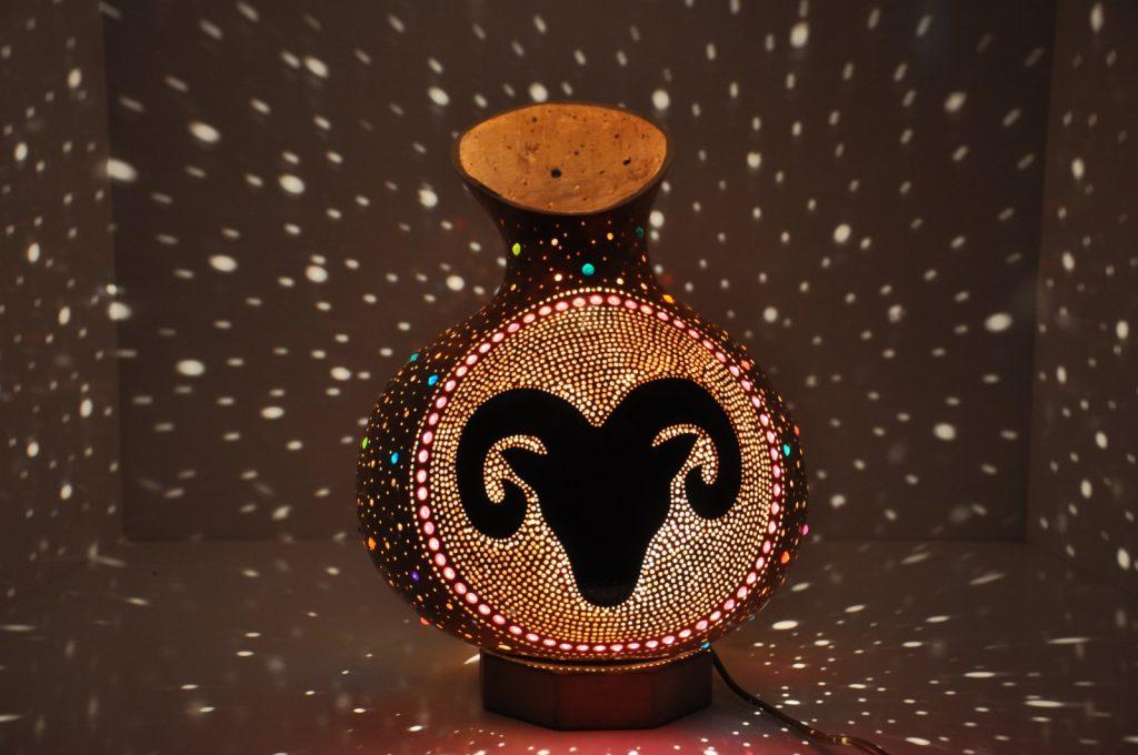 ARIES MOSAIC LAMP