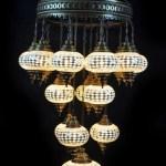 HANDMADE MANUFACTURER MOSAIC LAMPS