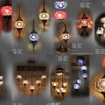 Big mosaic lamp manufacturer