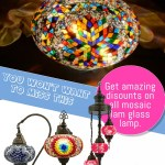 You won't want to miss it mosaic lamp discount