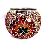 Glass Mosaic Candle Holder Producer