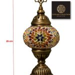 Turkish Light Table Lamp Size 1