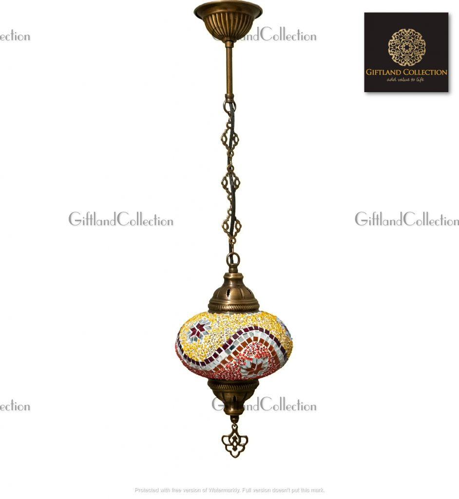 Single Chain Mosaic Lamp