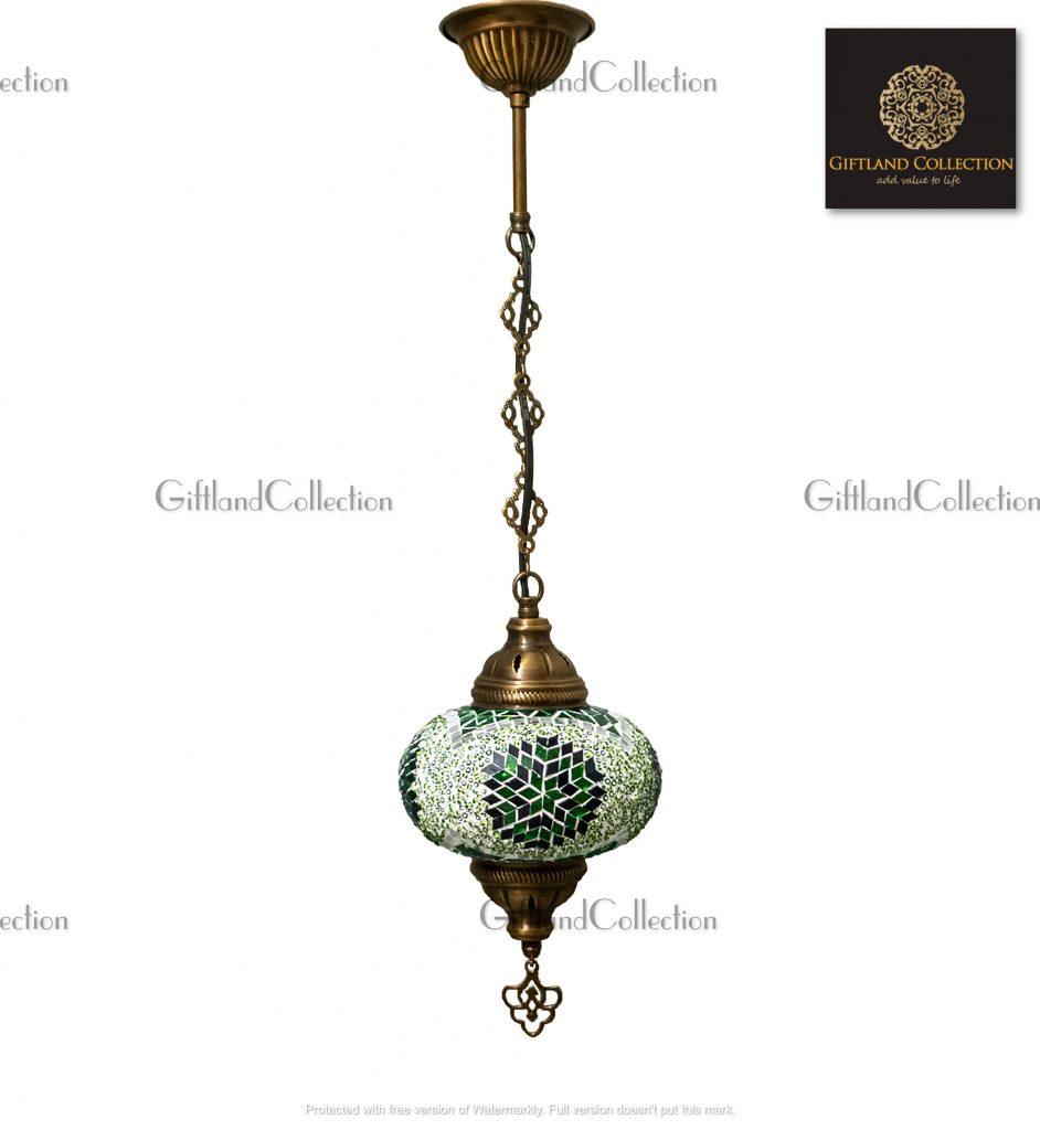 Turkish Handmade Chain Mosaic Lamp