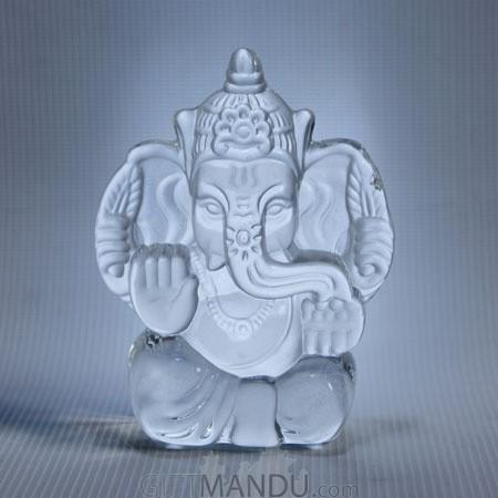 crystal ganesh statue 4