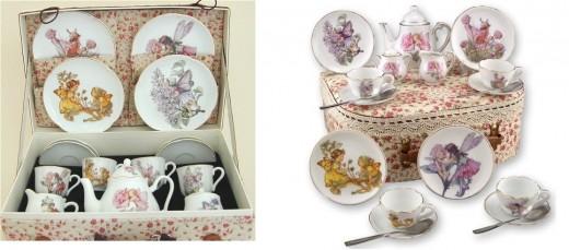 Flower Fairy childs tea set