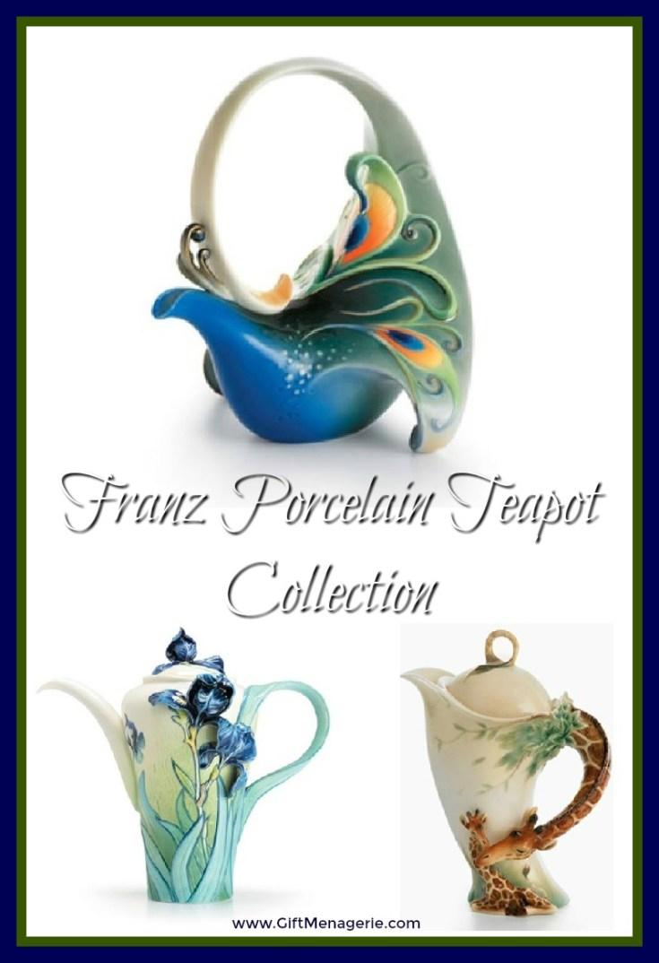 Franz Porcelain Teapots