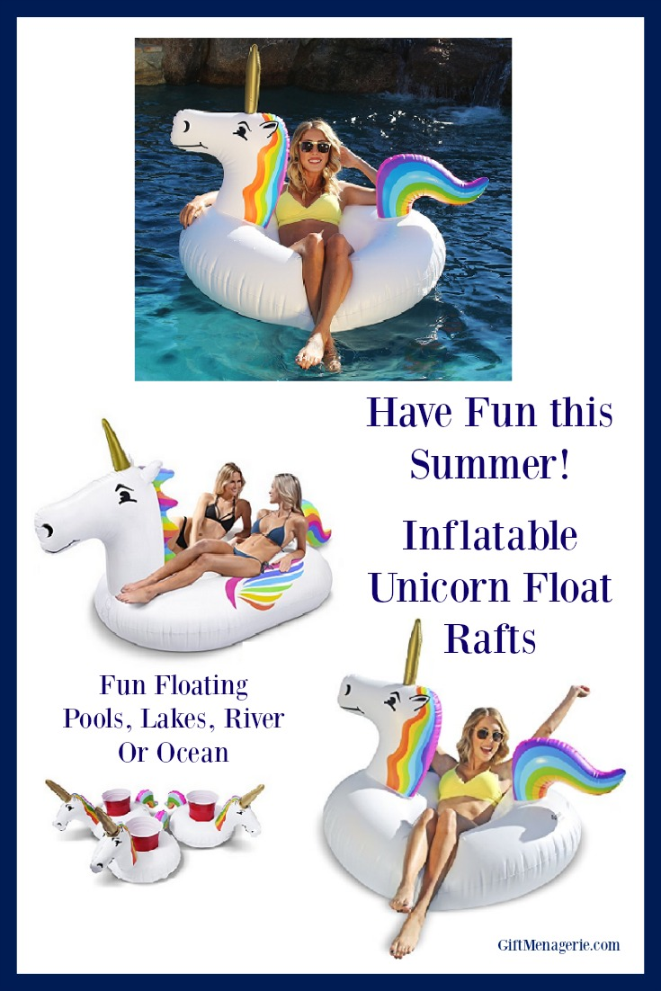 Unicorn Raft Float