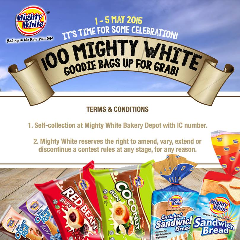 Free Mighty White Goodie Bag Giveaway2