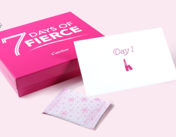 Free 7 Days of Fierce kit at Carefree USA1
