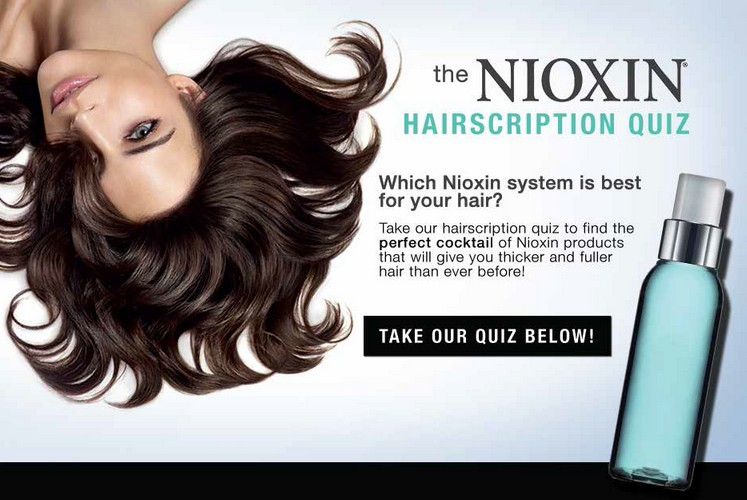 Free Sample of Nioxin USA with Loxa Beauty Quiz