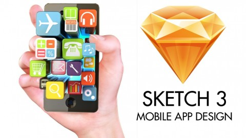 Free Udemy Course on Sketch 3 - Mobile App Design (UI & UX Design) 1