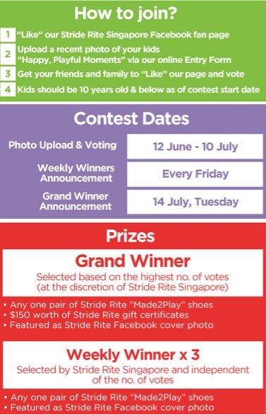 Stride Rite Singapore Made2Play Happy Kids Photo Contest1