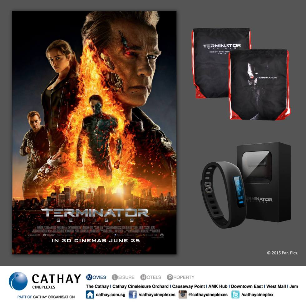 Win TERMINATOR GENISYS premiums by Cathay Cineplexes Singapore