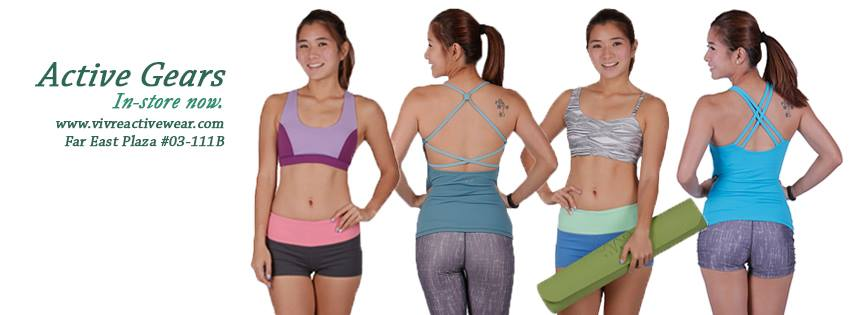Win Vivre Active Wear hamper worth $100! at THEFACESHOP Singapore banner