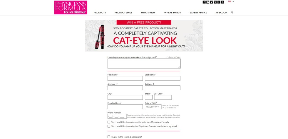 Win a Free Product! Sexy Booster Cat Eye Collection1