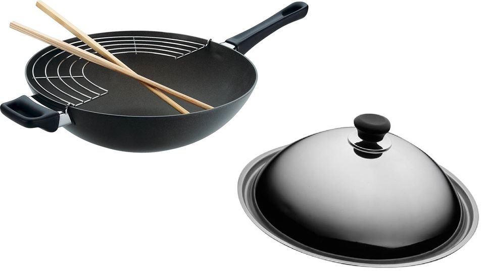 Win the Classic Wok w rack & sticks and Wok Lid at SCANPAN Singapore  1