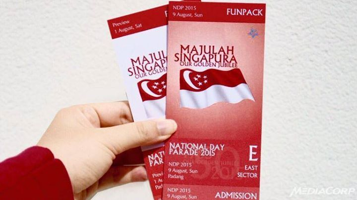 WIN SG50 NATIONAL DAY PARADE PREVIEW SHOW TICKETS @ Channel NewsAsia
