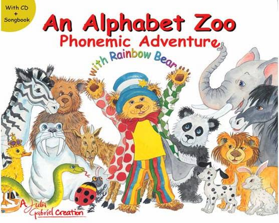Win An Alphabet Zoo Phonemic Adventure with Rainbow Bear at The New Age Parents