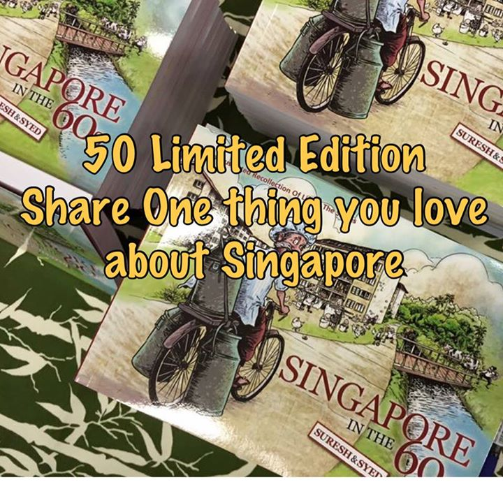 Win LIMITED EDITION Illustrated book 'SINGAPORE IN THE 60s'