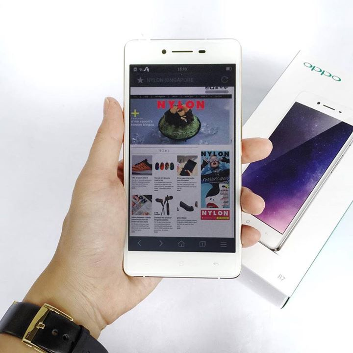 Win an OPPO R7 in celebratory gold (worth $569) at Nylon Singapore