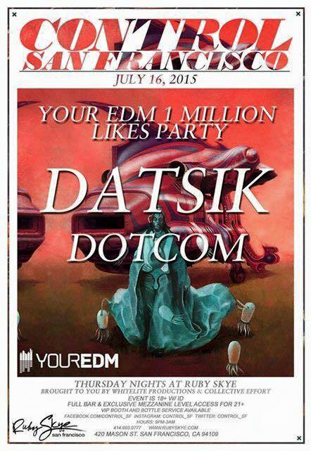 Your EDM Giveaway Meet & Greet Datsik in SF