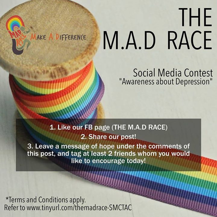 3 lucky winners will walk away with a Coffee Bean gift card each at The M.A.D Race Singapore