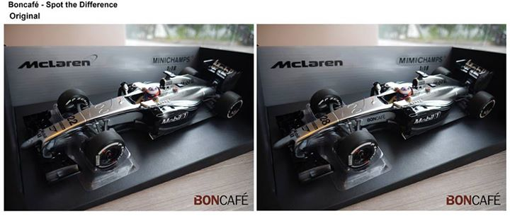 Boncafé Singapore Giveaway McLaren Official Merchandise