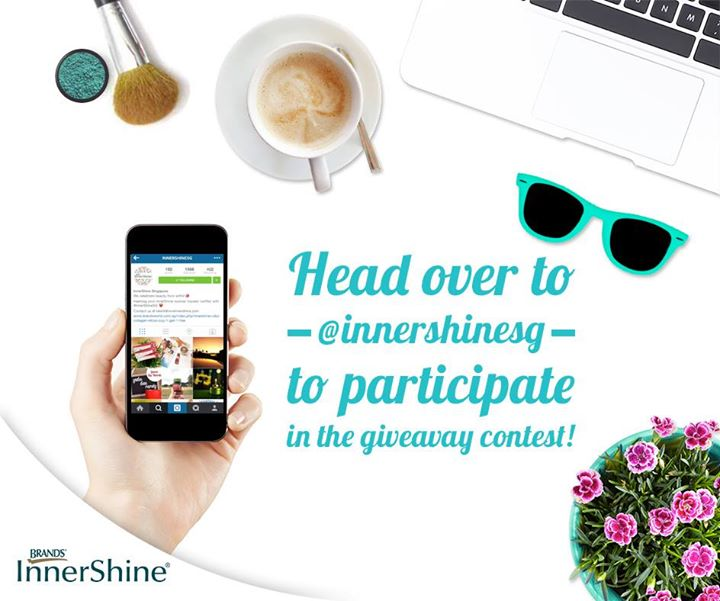 Brand's InnerShine Singapore Instagram Giveaway- Pack of #InnerShineBerryEssence
