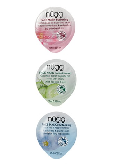 FREE Nügg Hydrating, Deep Cleansing, and Revitalizing Masks at Allure USA