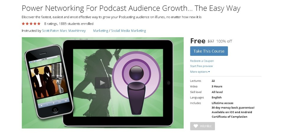 FREE Udemy Course on Power Networking For Podcast Audience Growth... The Easy Way 1