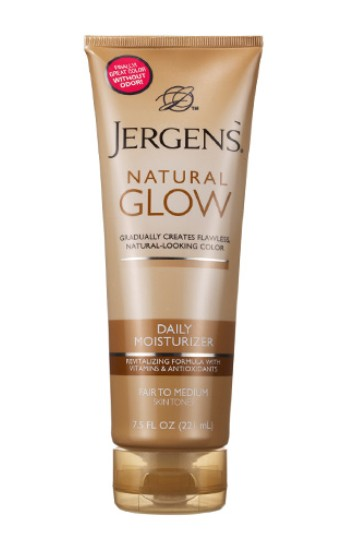 Free Jergens Natural Glow Daily Moisturizer at Allure USA