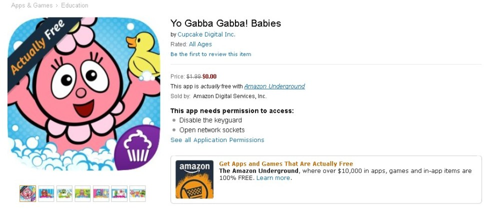 Free Yo Gabba Gabba! Babies at Amazon