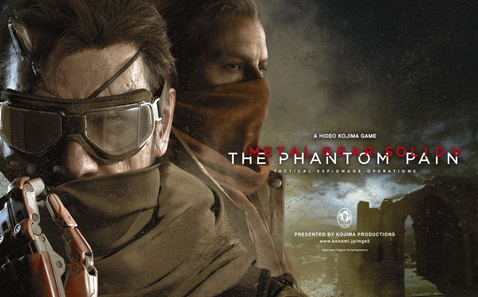 Metal Gear Solid V The Phantom Pain giveaway for PS4 and Xbox One at Geek Snack
